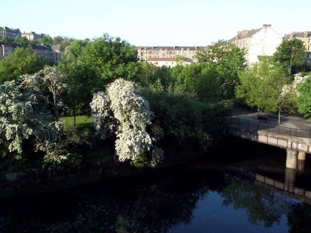 View from the Kelvin Bridge
