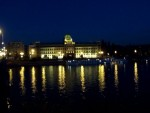 Blurry Prague at Night