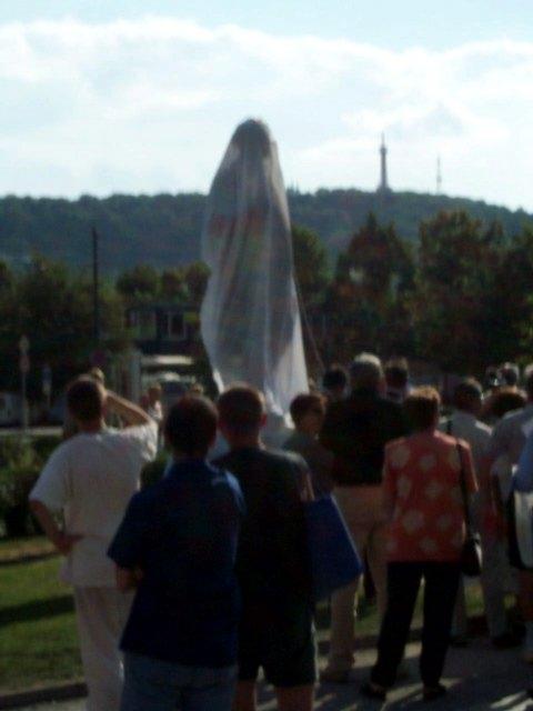 The Unveiling of a New Dvorak Statue