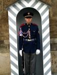 A No-Sense-of-Humor Guard at Prague Castle