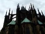 The Back of Prague Castle