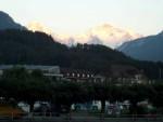 Sunset in Interlakken