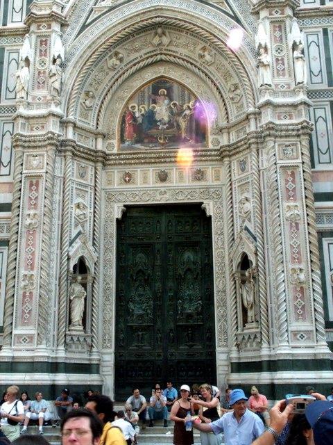 The Duomo's Front Door (Where's the Doorbell?)