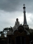 The Storm Coming in at Parque Guell