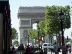 The Arc de Triomph