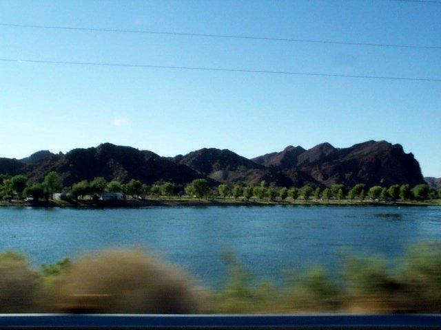 Speeding Down the Colorado River