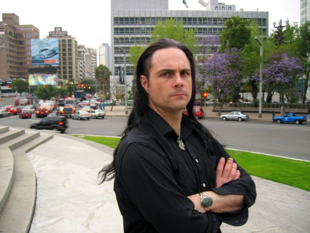 Marc looking huffy in Mexico City