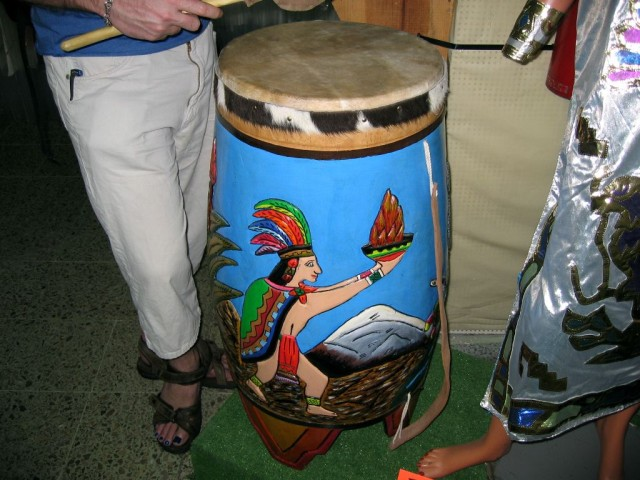 I think I mentioned this, but I really really liked this drum.