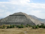 A good view of the squat base that causes this pyramid to have the highest cubic volume of any on earth