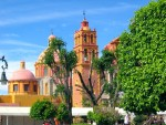 Tequisquipan's main church.  Good stuff!