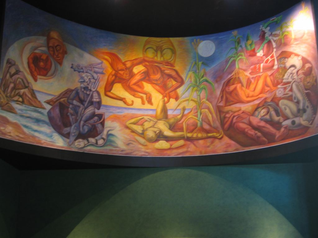 Some cool picture in Museo National de Antropologia