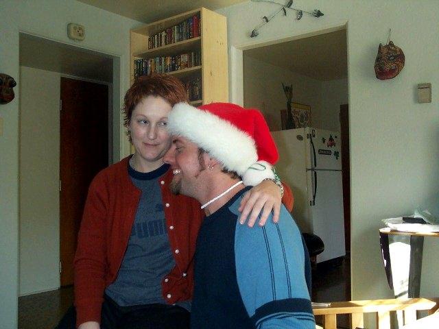 """Don't Grab Santa, Lady!"""