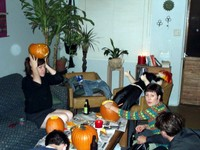 Highlight for Album: Pumpkin Carving Party 2000