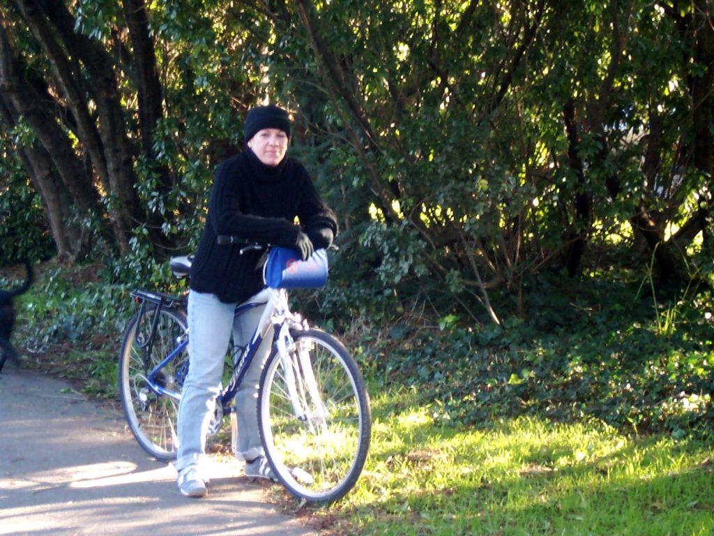 Corrie's bike-o-torture