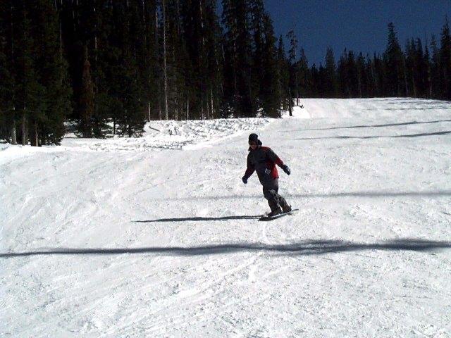 "Brett Illustrates a Snowboarding Concept called ""Turning"""