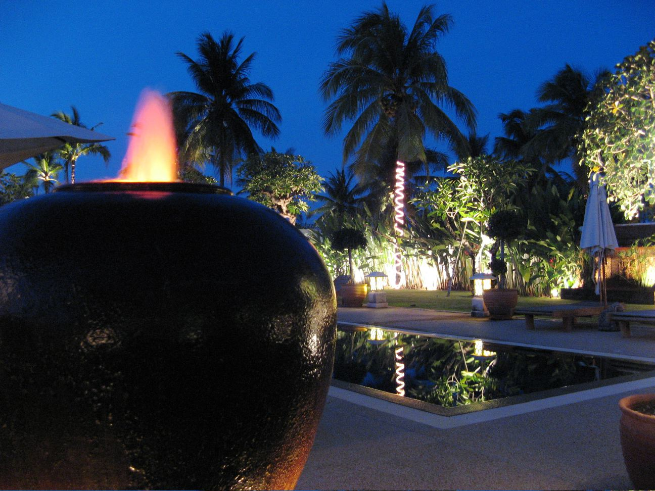 Feng shui fountain
