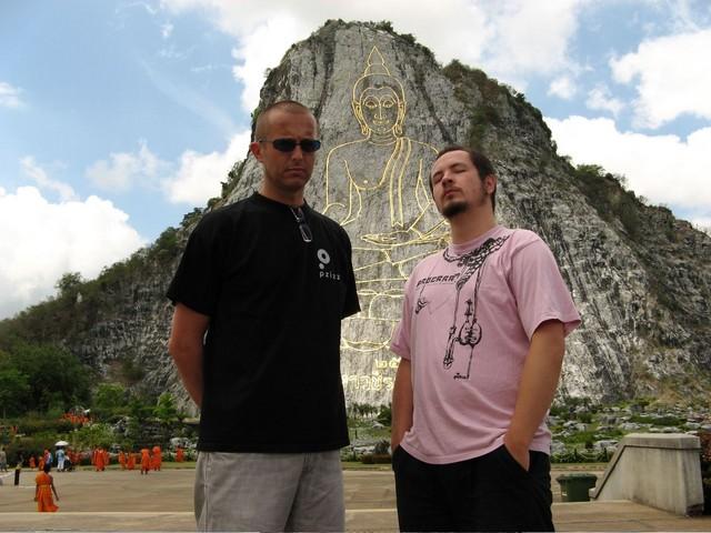 Somber Buddha Boys