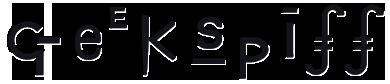 Geekspiff Logo